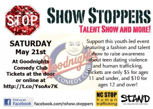 Show Stoppers Flyer